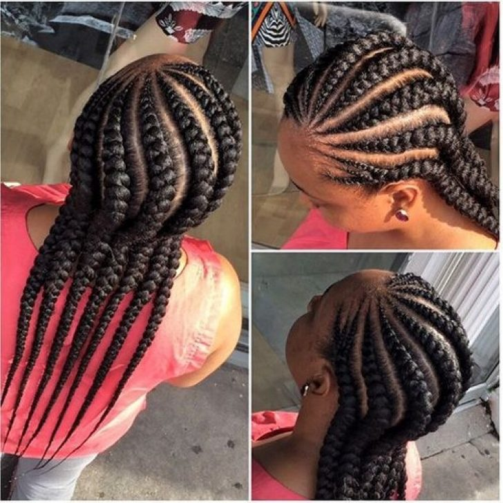 Permalink to 9 Stylish African American Big Braids Hairstyles