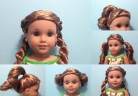 Awesome braided headband doll hairstyles american girl youtube Cute Hairstyles For American Girl Doll Grace Designs