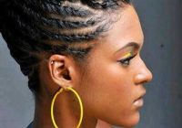 Awesome braids for black women with short hair Black Women Hair Braiding Styles Ideas