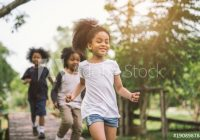 Awesome cute african american little girl playing outdoor black American Little Girls Ideas
