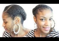 Awesome goddess braid on natural hair natural hair protective styles Goddess Braid For Short Natural Hair Ideas