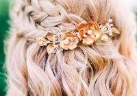 Awesome gorgeous braided prom hairstyles for short hair picture 6 Prom Styles For Short Hair Choices