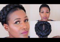 Awesome grecian goddess braid on short natural hair youtube Goddess Braid For Short Natural Hair Ideas