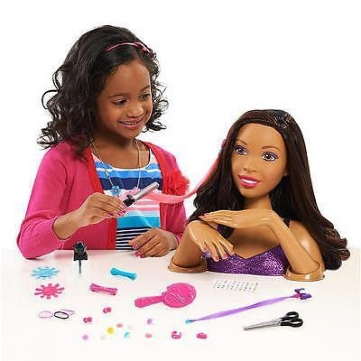 Permalink to 10 Cozy African American Hair Styling Doll Head
