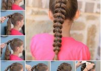 Best 20 quick and easy braids for kids tutorial included Simple Braided Hairstyles For Toddlers Inspirations