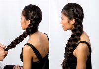 Best 21 braids for long hair with step step tutorials Braided Hairstyle For Long Hair Tutorial Inspirations