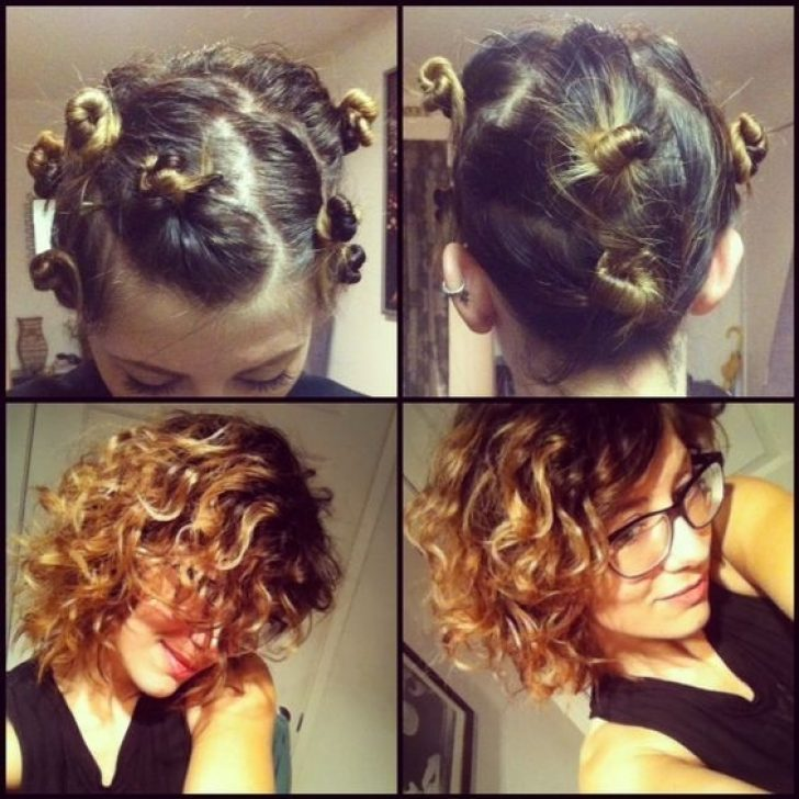 Permalink to Awesome Styling Short Hair Without Heat Ideas