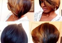Best 30 trendy bob hairstyles for african american women 2021 Short Layered Bob Hairstyles African American