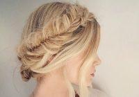 Best 40 elegant prom hairstyles for long short hair somewhat Prom Styles For Short Hair Choices