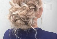 Best 47 gorgeous prom hairstyles for long hair page 2 of 5 Wedding Prom Hairstyle For Long Hair. Braided Updo Ideas