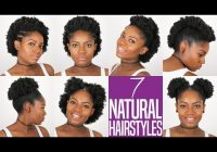 Best 7 natural hairstyles for short to medium length natural Quick Natural Hairstyles For Short 4c Hair Inspirations