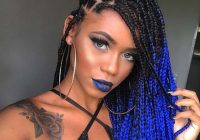 Best 88 best black braided hairstyles to copy in 2020 stayglam Best Black Braid Hairstyles Inspirations