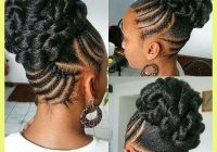 Best black braided updo hairstyles 412212 braided updos for black African American Updo Hairstyles Ideas