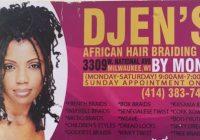 Best djens professional african hair braiding 3309 w national African Hair Braiding Milwaukee Choices