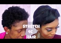 Best how to stretch short 4c natural hair with flat iron ft Flat Iron Hairstyles For African American Hair Designs