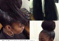 Best pin on black hair weave Bun Styles With Braiding Hair Choices