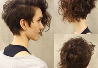 Best short haircut for thick curly hair best short curly hair Short Hairstyles For Thick Naturally Curly Hair Inspirations
