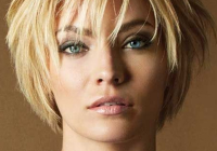 Best short layered straight human hair with bangs capless wigs Short Layered Hairstyles With Bangs For Thick Hair Inspirations