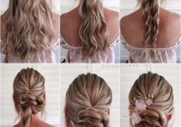 Best simple and pretty diy updo braided hairstyle tutorials for Braided Hairstyle For Wedding Tutorial Inspirations