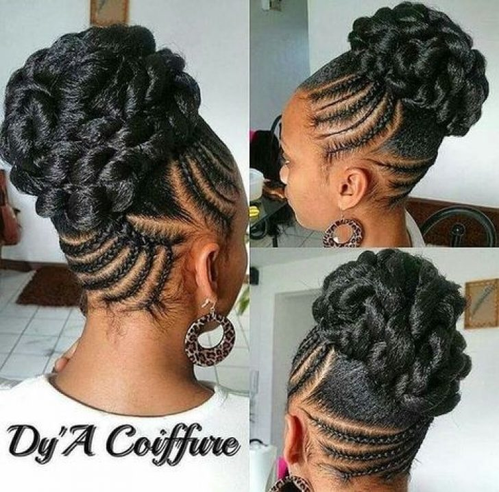 Permalink to 9 Cozy Braided Updo African American Gallery