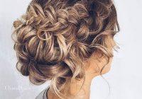 chic updos for medium length hair hair styles braided Braided Updo Hairstyles For Medium Hair Choices