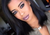 Cozy african american shoulder length hairstyles medium hair Medium Length African American Bob Hairstyles Ideas