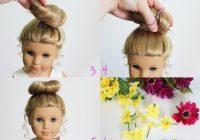 Cozy hair trait american girl hairstyles american girl doll Styling American Girl Doll Hair