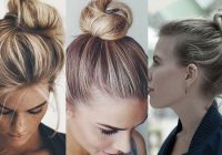 Elegant 10 bun hairstyles for ladies with short hair allurerage Short Hair Bun Styles Ideas