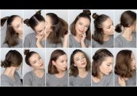 Elegant 12 easy hairstyles for short hair youtube Updos For Short Hair Tumblr Inspirations