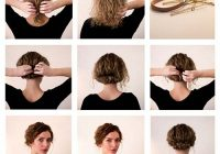 Elegant 20 incredibly stunning diy updos for curly hair Cute Updo Styles For Short Curly Hair Inspirations