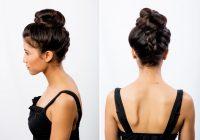 Elegant 21 braids for long hair with step step tutorials Long Hair Braided Updo Tutorial Ideas