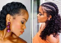 Elegant 21 easy ways to wear natural hair braids stayglam Braids With Natural Hair Styles Choices