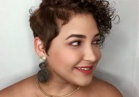 Elegant 22 flattering haircuts for round faces best hairstyles for Short Hairstyles For Thick Curly Hair Round Face Choices