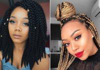 Elegant 25 crochet box braids hairstyles for black women stayglam African American Box Braid Hairstyles Ideas