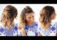 Elegant 3 easy hairstyles for short hair youtube Luxy Hair Styles For Short Hair Choices