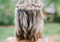 Elegant 30 bridesmaid hairstyles your friends will love a Braided Hair For Bridesmaids Choices