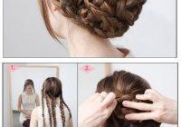 Elegant 40 braided hairstyles for long hair Cool Braided Updos For Long Hair Inspirations