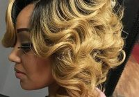 Elegant 40 gorgeous sew in hairstyles that will rock your world Short Hair Sew In Styles Inspirations