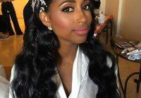 Elegant 43 black wedding hairstyles for black women in 2020 black Wedding Hairstyles For African American Hair Ideas