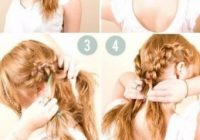 Elegant 50 incredibly easy hairstyles for school to save you time Easy Hairstyles Long Hair Braids Ideas