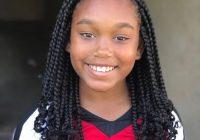 Elegant 50 most inspiring hairstyles ideas for little black girls African American Girl Braids Designs