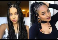 Elegant african braids hairstyles ideas for black women 2018 youtube Hairstyles Female African Braids Ideas