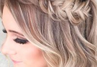 Elegant amazing prom hairstyles for short hair see more http Short Prom Hair Styles Inspirations