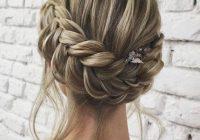 Elegant french braid updo wedding French Braid Hairstyles For Weddings Inspirations