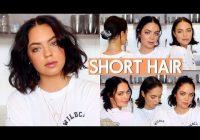 Elegant how i style my short hair katherine rose youtube Hot To Style Short Hair Choices