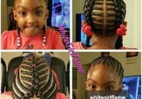 Elegant im definitely braiding my daughters hair like this lil Natural Hair Braid Styles Kids Inspirations