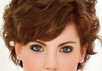 Elegant pin on hair Short Hairstyle For Thick Curly Hair Inspirations