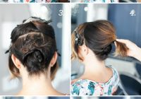 Elegant pretty simple updo for short hair camille styles Short Hair Styles Updos Inspirations