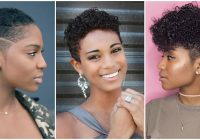 Elegant top 15 easy natural hairstyles for short hair Simple Hairstyles For Short Afro Hair Ideas