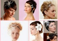 Elegant wedding hairstyle for short hair 30 best ideas Very Short Hair Wedding Styles Inspirations